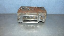 Vintage Gm Delco Am Radio 45pdn Chevrolet Chevy Impala Caprice Bel Air For Parts