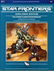 Star Frontiers French Volturnus Planet Of Mystery Sf1 Exc Tsr 7801