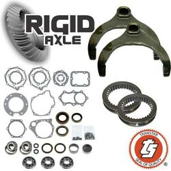 Chevy Np205 Transfer Case Rebuild Kit Bearings Gasket Seal Sliders And Forks Th400