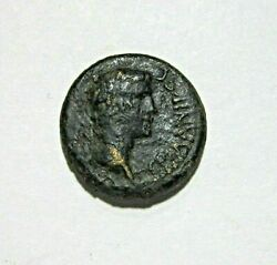 Phrygia Aizanis. Ae 17. Germanicus And Agrippina Struck By Caligula 37-41 Ad