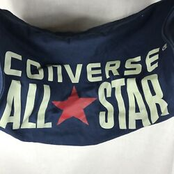 CONVERSE All Star Blue Duffel Barrel Legacy Bag Gym Chuck Taylor Canvas