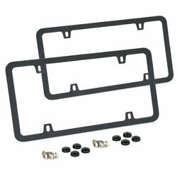 License Plate Frame Universal With Screws And Bolts