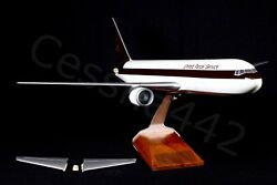 Pacmin Boeing Aviation Cargo Ups 767-300 Airline Aircraft Model 1/100 Rare Parts