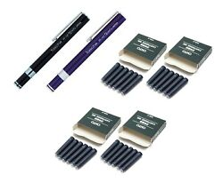 Ohto Tasche Compact Fountain Penff-10t,ink Cartridgefcr-6 -pack Of 6