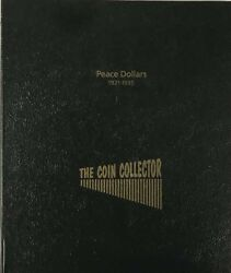 Coin Collector Album For Us Peace Dollars Set High Quality No Pvc New And Durable