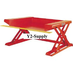 NEW! Floor Level Powered Lift Table 40H Hand Control 4000 Lb!!