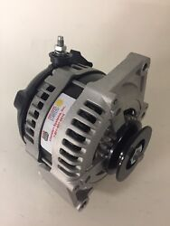63-89 Ford High Output Hair Pin Load Boss 1 Wire Alternator 170 Amps 130+a @idle
