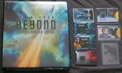2017 Star Trek Beyond Non-Sketch ALMOST MASTER SET of 312 Cards in Binder RC16