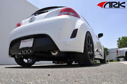 Ark Performance Dt-s Exhaust Polished Tips For 2012-2015 Veloster Non-turbo