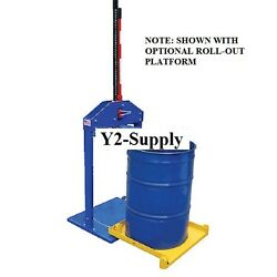 New Manual Trash Compactor For 55 Gallon Drums