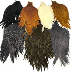 Keough Tyers Grade Cape - Fly Tying Neck Hackle Feathers Dry Flies New