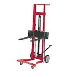 New Wesco Foot Pedal Adjustable Forks Lift Truck 260012 4 Wheel Style 750 Lb
