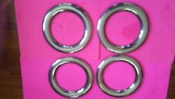 New 1954-1955-1956 Ford And Thunderbird Trim Rings