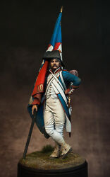 French Revolutionary Standard Bearer Painted Toy Soldier Pre-sale   Museum