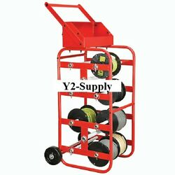 New Industrial Portable Wire Reel Caddy