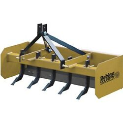 New 5and039 Heavy Duty Box Blade Tractor Attachment 5 Shank Category 1