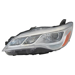 Replacement Headlight Assembly for 15-17 Camry (Driver Side) TO2502223N
