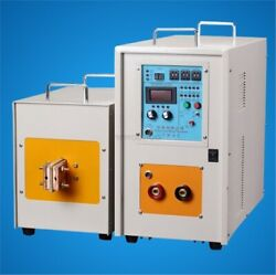 40kw 30-80khz High Frequency Induction Heater Furnace Lh-40ab Brand New Vk