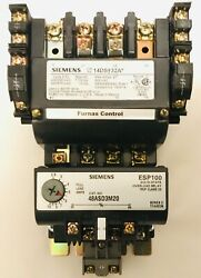 Siemens 14ds32a Nema Size 1 Starter 120 Volts Coil With 48asd3m20 Overload Relay