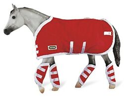 Breyer Traditional Blanket amp; Shipping Boots Red