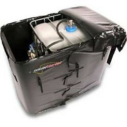 NEW! Powerblanket Insulated IBC Diesel Exhaust Fluid Tote Heater 275 Gallon!!