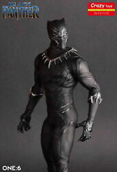 Crazy Toys 16 Scale Marvel Comics Black Panther Figurine Toy Doll Statue