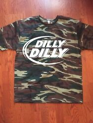 Dilly Dilly T-shirt 4 Design Drinking Best Seller Camouflage Beer Sizes S-2xl