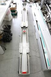 Robostar Used Rs-210-x50ss Linear Actuator, Total Length 2930mm Stroke 1100+1050