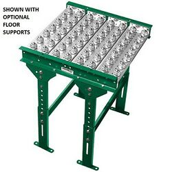 New 4and039 Ball Transfer Conveyor Table 22 Bf 48l 3 Ball Centers