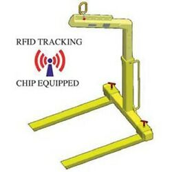 NEW! Adjustable Pallet Lifter - 4000 Lb. Capacity-Tracking Chip!!