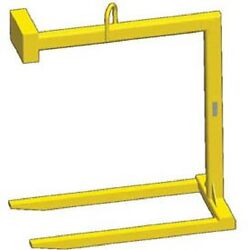 NEW! Fixed Bale Lift Pallet Lifter - 6000 Lb. Capacity-Tracking Chip!!