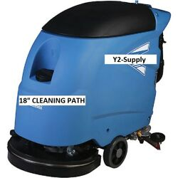 New Electric Auto Floor Scrubber 18 Cleaning Path