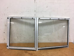 1995 Sea Pro Classic 1900 Front Left Side Windshield Glass Piece With Door
