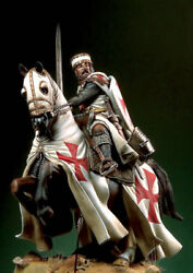 Templar Knight At Holy Land Painted Toy Soldier Pre-sale   Museum Quality