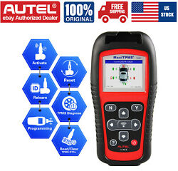 Autel Ts501 Scan Tool Tire Pressure Sensor Activate Code Reader Tpms Program Usa
