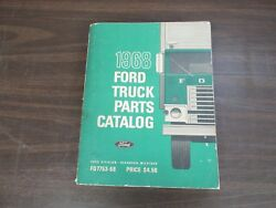 1968 Ford Truck Parts Catalog Book 418
