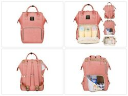 Insulated Diaper Bag Backpack Large Waterproof Nappy Changing for Mommy Women