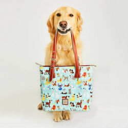 Disney Dogs Emily Dooney & Bourke Tote Bag Purse Sold Out! ❤Great Placement❤