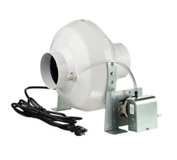 VENTS-US 162 CFM Dryer Booster Fan with 4 in. Duct For Electric Clothes Dryers