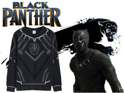 Marvel Black panther 2018 Pullover sweater cosplay costume Sweatshirt Tops