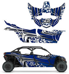 Can Am X3 Maverick Mac 4 Beach Croozer Design Graphic Kit Wraps Decals Off Road