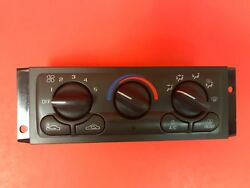 19972000 Chevy Venture Pontiac Silhouette AC Heater Climate Control l 15-72677