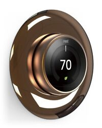 Wall Plate Cover for Nest Learning Thermostat 1-3 Generation Chrome Bronze