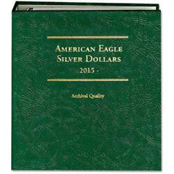 Coin Album For Collecting Silver Eagles Ase 2015 - Date Littleton Lca79 Man Gift
