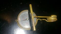 Wwii Japanese Compass Samurai Sword Collectible Army Navy Tool