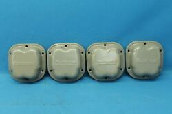 Set Of 4 Continental O-200 Rocker Cover Plates P/n 40762 21811