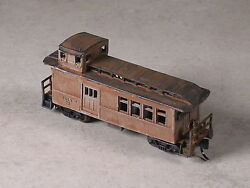 N Scale Custom Assembled Logging Caboose And Tools Section 3