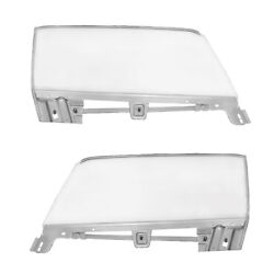 1967 68 Mustang Convertible Door Window Clear Glass And Frame Kit Right And Left