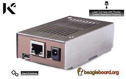 KKSB BeagleBone Case Brushed Steel for BeagleBone SanCloud & BeagleBone Black