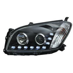 Assembly Headlamp HID Angle Halo Lens High+Dipped Beam For Toyota RAV-4 09-12